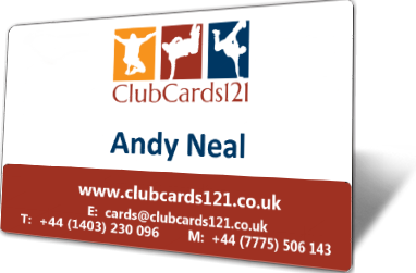 Clubcards121 Business Cards