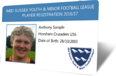 Clubcards121 Player Registration Cards