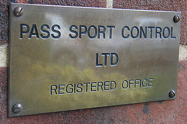 Pass Sport Control Ltd - Clubcards121